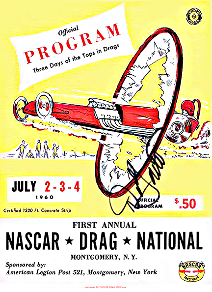 1st Annual Montgomery Dragway Poster