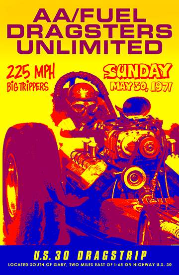 AA/Fuel Altered Dragsters Unlimited Poster