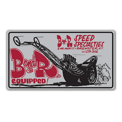 B & R Speed Specialties Decal