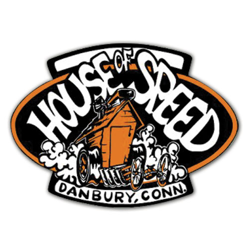 House of Speed Logo Decal