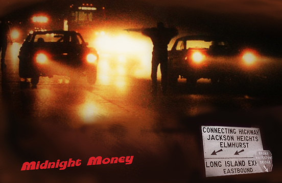 New York City's Connecting Highway Midnight Money Dino's Designer Poster Series #2
