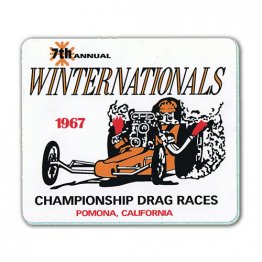 1967 7th Annual Winternationals Decal