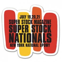 1968 Superstock Nationals Decal