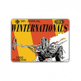 1969 9th Annual NHRA Winternationals Decal