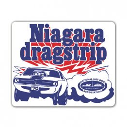 1970 Niagara Drag Strip Decal