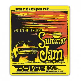 1974 Summer Jam Mid-Season Championship Decal