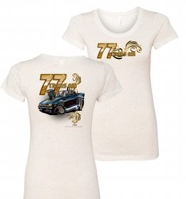 Ladies Toonup Up '77 Trans Am T-Shirt