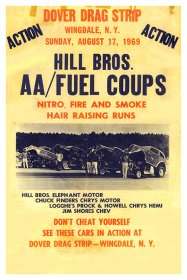 Dover Drag Strip AA/Fuel Coupes Poster