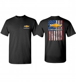 Chevy American Flag T-Shirt