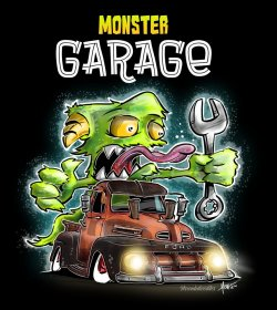 Monster Garage Shirt
