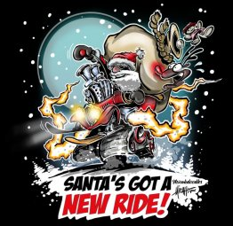 Santa's Got a New Ride Shirt