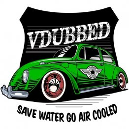 Save Water Go Air Cooled Green Shirt