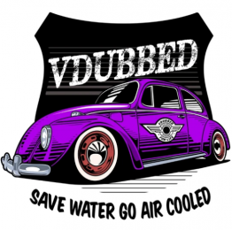Save Water Go Air Cooled Purple Shirt