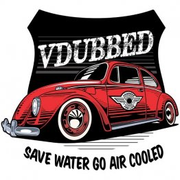 Save Water Go Air Cooled Red Shirt