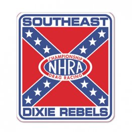 Southeast Division Dixie Rebel NHRA Decal