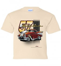 '57 Bel Air Tooned Up Youth T-Shirt