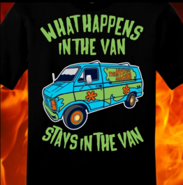 What Happens In The Van Shirt