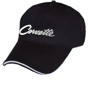 Corvette Script Liquid Metal Hat
