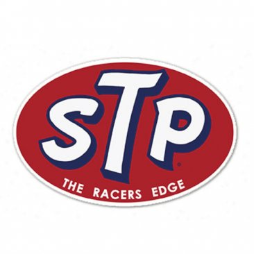 STP Racers Edge Decal