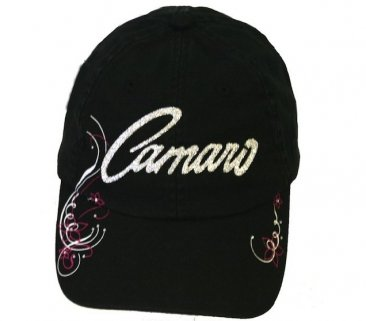 Ladies Black Camaro Hat